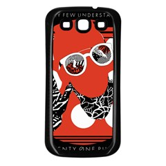 Twenty One Pilots Poster Contest Entry Samsung Galaxy S3 Back Case (black)