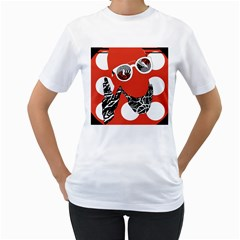 Twenty One Pilots Poster Contest Entry Women s T Shirt (white)