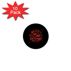 Albums By Twenty One Pilots Stressed Out 1  Mini Magnet (10 Pack)