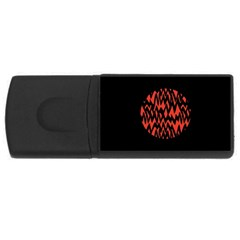 Albums By Twenty One Pilots Stressed Out Rectangular Usb Flash Drive
