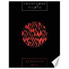 Albums By Twenty One Pilots Stressed Out Canvas 18  X 24