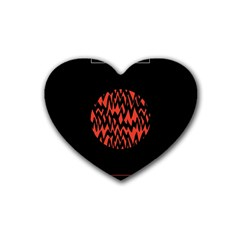 Albums By Twenty One Pilots Stressed Out Heart Coaster (4 Pack)