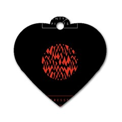Albums By Twenty One Pilots Stressed Out Dog Tag Heart (two Sides)