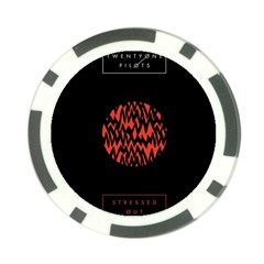 Albums By Twenty One Pilots Stressed Out Poker Chip Card Guard (10 Pack)