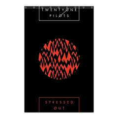 Albums By Twenty One Pilots Stressed Out Shower Curtain 48  X 72  (small)