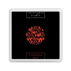 Albums By Twenty One Pilots Stressed Out Memory Card Reader (square)