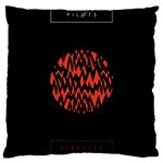 Albums By Twenty One Pilots Stressed Out Large Cushion Case (Two Sides) Back