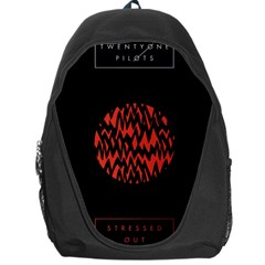 Albums By Twenty One Pilots Stressed Out Backpack Bag