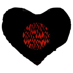 Albums By Twenty One Pilots Stressed Out Large 19  Premium Heart Shape Cushions