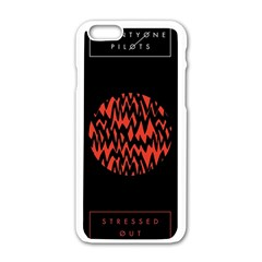 Albums By Twenty One Pilots Stressed Out Apple Iphone 6/6s White Enamel Case