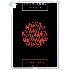 Albums By Twenty One Pilots Stressed Out Apple Ipad Pro 9 7   White Seamless Case