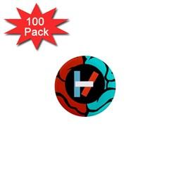 Twenty One Pilots 1  Mini Magnets (100 Pack)