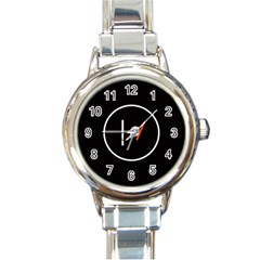 Twenty One Pilots Band Logo Round Italian Charm Watch