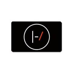 Twenty One Pilots Band Logo Magnet (name Card)