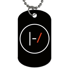 Twenty One Pilots Band Logo Dog Tag (one Side)