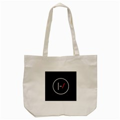 Twenty One Pilots Band Logo Tote Bag (cream)