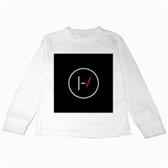 Twenty One Pilots Band Logo Kids Long Sleeve T Shirts