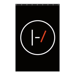 Twenty One Pilots Band Logo Shower Curtain 48  X 72  (small)