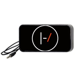 Twenty One Pilots Band Logo Portable Speaker (black)
