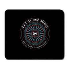Twenty One Pilots Power To The Local Dreamder Large Mousepads