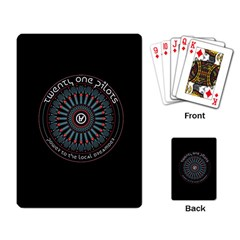 Twenty One Pilots Power To The Local Dreamder Playing Card
