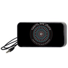 Twenty One Pilots Power To The Local Dreamder Portable Speaker (black)