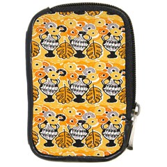 Amfora Leaf Yellow Flower Compact Camera Cases
