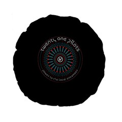 Twenty One Pilots Power To The Local Dreamder Standard 15  Premium Flano Round Cushions