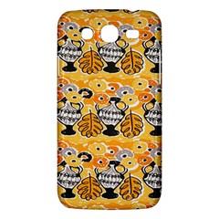 Amfora Leaf Yellow Flower Samsung Galaxy Mega 5 8 I9152 Hardshell Case