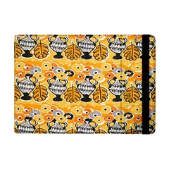 Amfora Leaf Yellow Flower Ipad Mini 2 Flip Cases