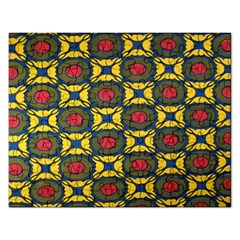 African Textiles Patterns Rectangular Jigsaw Puzzl