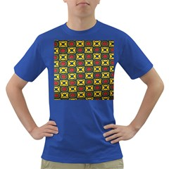 African Textiles Patterns Dark T Shirt