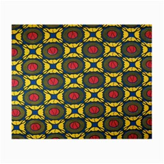 African Textiles Patterns Small Glasses Cloth