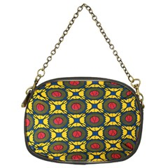African Textiles Patterns Chain Purses (two Sides)