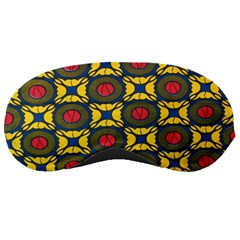 African Textiles Patterns Sleeping Masks