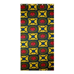 African Textiles Patterns Shower Curtain 36  X 72  (stall)