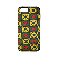 African Textiles Patterns Apple Iphone 5 Classic Hardshell Case (pc+silicone)