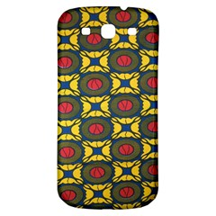 African Textiles Patterns Samsung Galaxy S3 S Iii Classic Hardshell Back Case