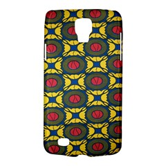 African Textiles Patterns Galaxy S4 Active