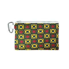 African Textiles Patterns Canvas Cosmetic Bag (s)