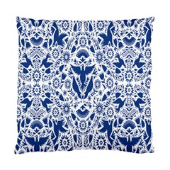 Birds Fish Flowers Floral Star Blue White Sexy Animals Beauty Standard Cushion Case (one Side)
