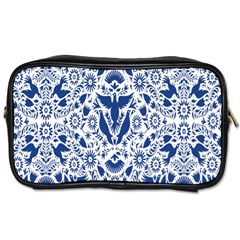 Birds Fish Flowers Floral Star Blue White Sexy Animals Beauty Toiletries Bags