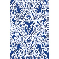Birds Fish Flowers Floral Star Blue White Sexy Animals Beauty 5 5  X 8 5  Notebooks