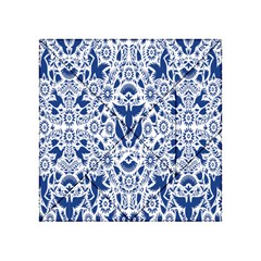Birds Fish Flowers Floral Star Blue White Sexy Animals Beauty Acrylic Tangram Puzzle (4  X 4 )