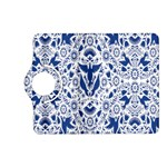 Birds Fish Flowers Floral Star Blue White Sexy Animals Beauty Kindle Fire HD (2013) Flip 360 Case Front