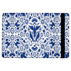 Birds Fish Flowers Floral Star Blue White Sexy Animals Beauty Ipad Air Flip