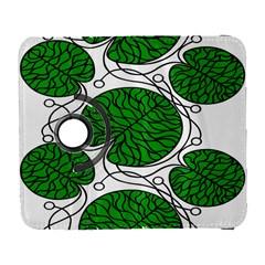 Bottna Fabric Leaf Green Galaxy S3 (flip/folio)