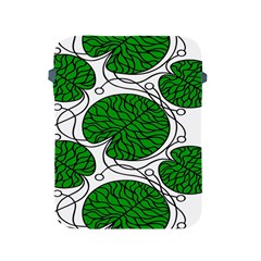 Bottna Fabric Leaf Green Apple Ipad 2/3/4 Protective Soft Cases