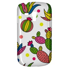 Cactus Seamless Pattern Background Polka Wave Rainbow Galaxy S3 Mini