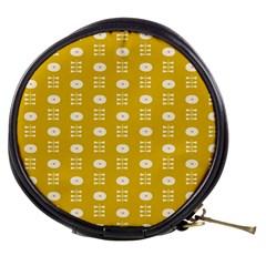 Circle Polka Chevron Orange Pink Spot Dots Mini Makeup Bags